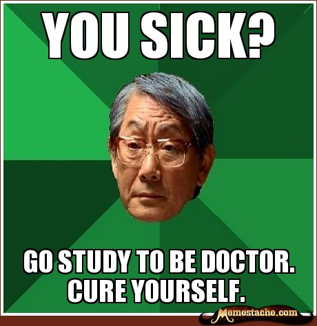 Have you guys ever studied while sick?