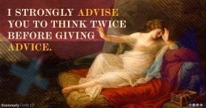 adviseadvice
