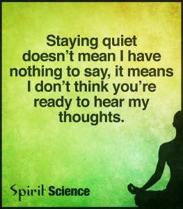 stayingquiet