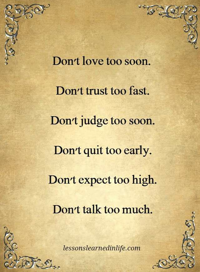 lovetrustjudgequit