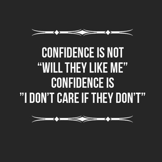 confidenceisnot